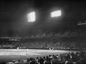 St. Louis Browns Game by Peter Stackpole
