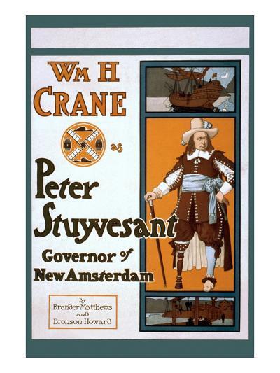 Peter Stuyvesant Dutch Governor of New York--Art Print
