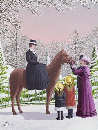Lady on Horseback by Peter Szumowski
