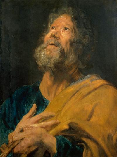 Peter the Apostle, 1617-1618-Sir Anthony Van Dyck-Giclee Print