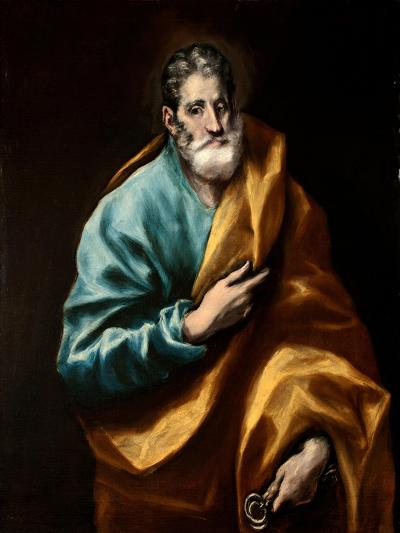 Peter the Apostle-El Greco-Giclee Print