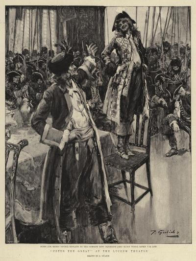 Peter the Great at the Lyceum Theatre--Giclee Print