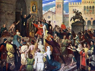 Peter the Hermit Preaching the First Crusade, 1926-James Archer-Giclee Print