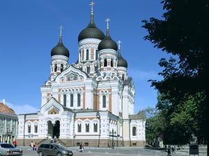 Alexander Nevsky Cathedral, Tallinn, Estonia by Peter Thompson