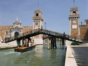 Arsenale, Venice, Italy by Peter Thompson