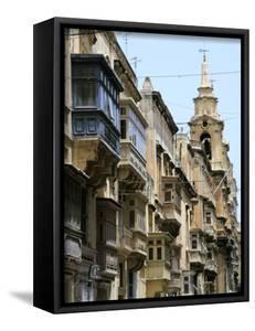 Balconies, St Pauls Street, Valletta, Malta by Peter Thompson