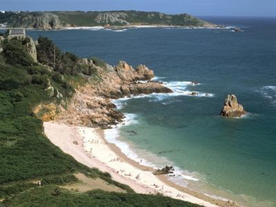 Beauport Bay, Jersey, Channel Islands by Peter Thompson