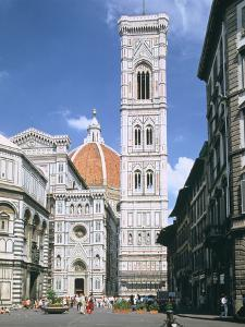 Bell Tower of the Duomo, Florence, Italy by Peter Thompson