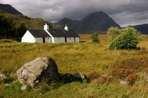 Blackrock Cottage, Glencoe, Highland, Scotland by Peter Thompson