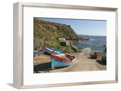 Boats on the Slipway at Cape Cornwall, Cornwall
