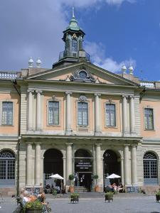Borsen (Old Stock Exchange) and Nobel Museum, Stockholm, Sweden by Peter Thompson