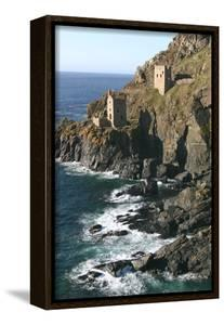 Botallack Mine Engine Houses, Cornwall by Peter Thompson