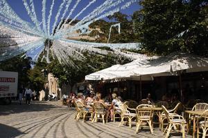 Cafe, Valldemossa, Mallorca, Spain by Peter Thompson
