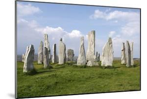 Callanish Stones, Isle of Lewis, Outer Hebrides, Scotland, 2009 by Peter Thompson