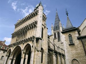 Church of Notre Dame, Dijon, Burgundy, France by Peter Thompson