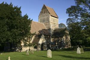 Church of St Lawrence, Castle Rising, Kings Lynn, Norfolk, 2005 by Peter Thompson