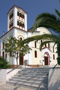 Church, Sami, Kefalonia, Greece by Peter Thompson