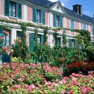 Claude Monets House, Giverny, Normandy, France by Peter Thompson
