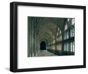 Cloister of Gloucester Cathedral by Peter Thompson