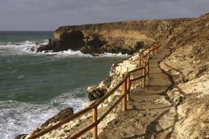 Coastal Path, Puerto De La Pena, Ajuy, Fuerteventura, Canary Islands by Peter Thompson