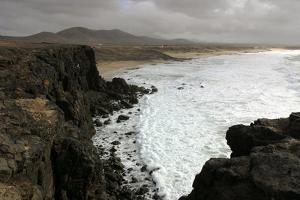 Coastline Near El Cotillo, Fuerteventura, Canary Islands by Peter Thompson