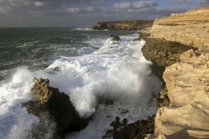 Coastline Near Puerto De La Pena, Ajuy, Fuerteventura, Canary Islands by Peter Thompson