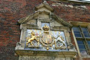 Coat of Arms of Charles I, York, North Yorkshire by Peter Thompson