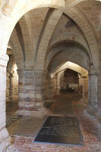 Crypt, the Collegiate Church of St Mary, Warwick, Warwickshire, 2010 by Peter Thompson