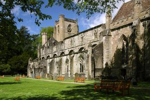 Dunkeld Cathedral, Perthshire, Scotland by Peter Thompson