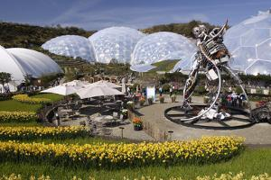 Eden Project, Near St Austell, Cornwall by Peter Thompson