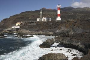 Faro De Fuencaliente Lighthouses, La Palma, Canary Islands, Spain, 2009 by Peter Thompson