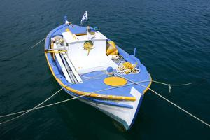 Fishing Boat, Sami, Kefalonia, Greece by Peter Thompson