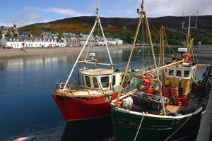 Fishing Boats, Ullapool Harbour, Highland, Scotland by Peter Thompson