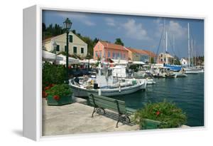 Fiskardo Harbour, Kefalonia, Greece by Peter Thompson
