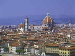 Florence from Piazzale Michaelangelo, Italy by Peter Thompson