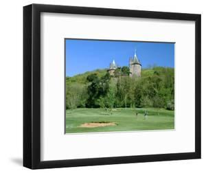 Golf Course and Castell Coch, Tongwynlais, Near Cardiff, Wales by Peter Thompson