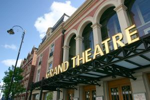 Grand Theatre, Wolverhampton, West Midlands by Peter Thompson