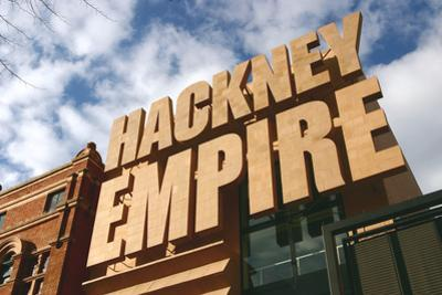 Hackney Empire, London by Peter Thompson
