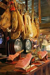 Hams for Sale, Casa De Miranda, Puerto De La Cruz, Tenerife, Canary Islands, 2007 by Peter Thompson
