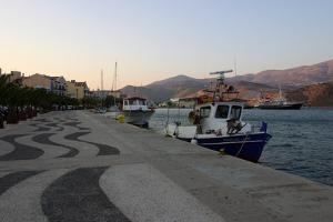 Harbour, Argostoli, Kefalonia, Greece by Peter Thompson