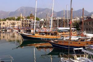 Harbour of Kyrenia (Girne), North Cyprus by Peter Thompson