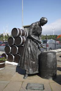 Herring Girl Statue, Stornoway Harbour, Isle of Lewis, Outer Hebrides, Scotland, 2009 by Peter Thompson