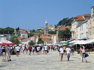 Hvar Town, Croatia by Peter Thompson