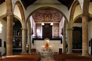 Interior, Church of Nuestra Senora De La Concepcion, La Laguna, Tenerife, Canary Islands, 2007 by Peter Thompson