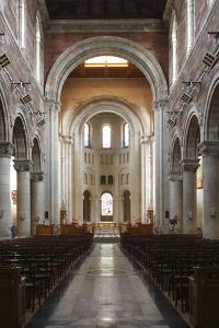 Interior of St Annes Cathedral, Belfast, Northern Ireland, 2010 by Peter Thompson