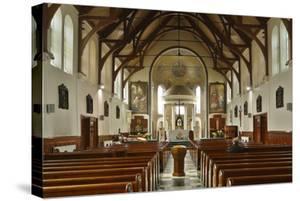 Interior of St Marys Catholic Church, Belfast, Northern Ireland, 2010 by Peter Thompson