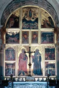 Interior of the Basilica of San Miniato Al Monte, Florence, Italy by Peter Thompson