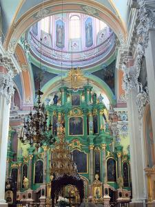 Interior of the Church of the Holy Spirit, Vilnius, Lithuania by Peter Thompson