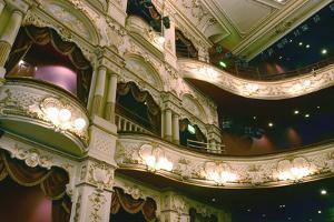 Interior of the Lyceum Theatre, Sheffield, South Yorkshire by Peter Thompson