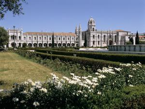 Jeronimos Monastery, Lisbon, Portugal by Peter Thompson